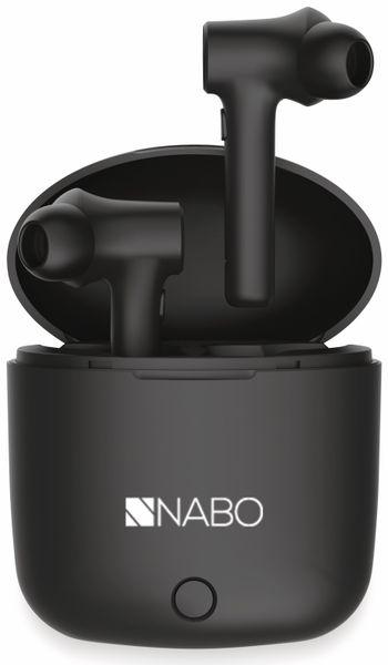 In-Ear Ohrhörer NABO T2, inkl. Mikrofon, schwarz