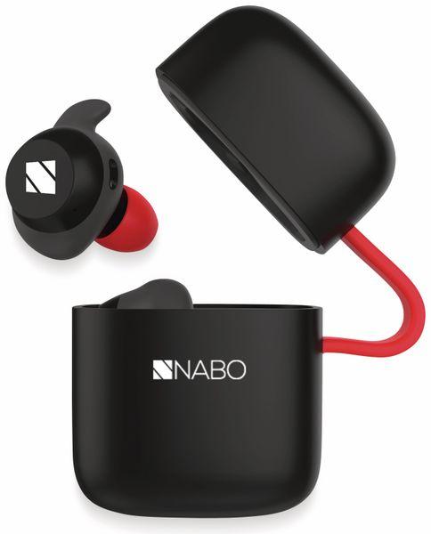 In-Ear Ohrhörer NABO X-Sound T Sport, schwarz, inkl. Mikrofon