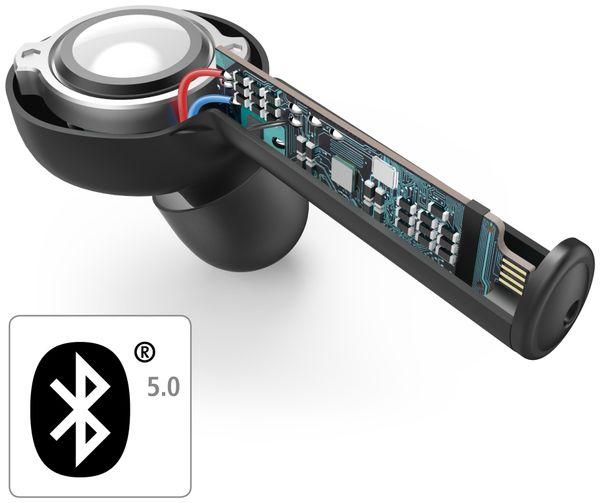 In-Ear Ohrhörer HAMA Style, BT, inkl. Mikrofon, schwarz - Produktbild 3