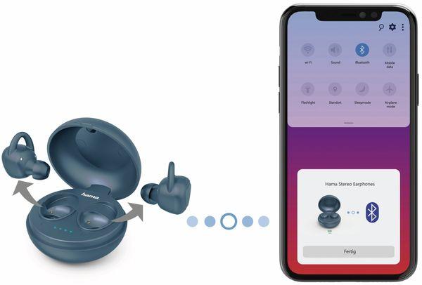 In-Ear Ohrhörer HAMA LiberoBuds, blau - Produktbild 4