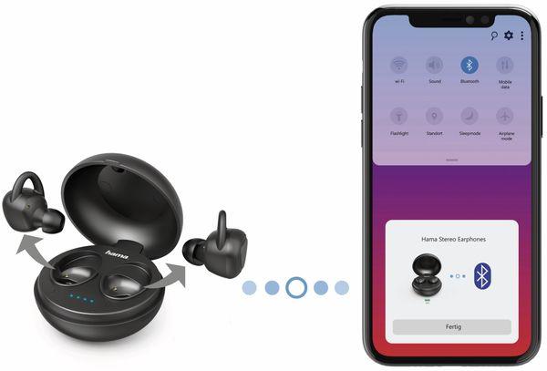 In-Ear Ohrhörer HAMA LiberoBuds, schwarz - Produktbild 4