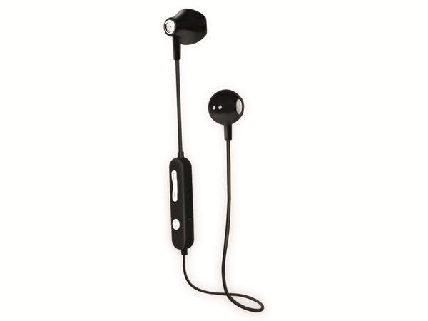 In-Ear Ohrhörer LOGILINK BT0056, Bluetooth 5.0, inkl. Mikrofon, schwarz - Produktbild 4