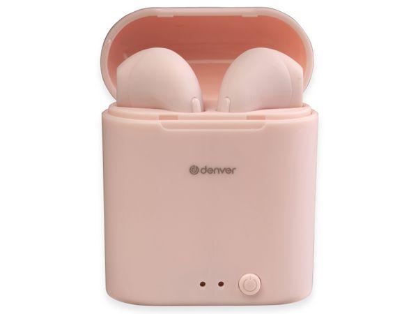 In-Ear Ohrhörer DENVER TWE-46, rosa - Produktbild 4