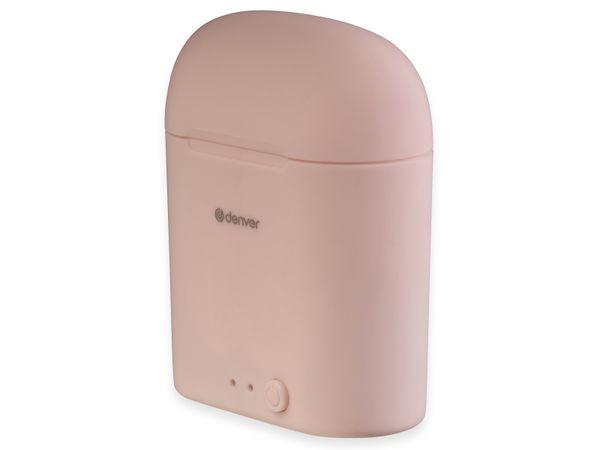 In-Ear Ohrhörer DENVER TWE-46, rosa - Produktbild 5