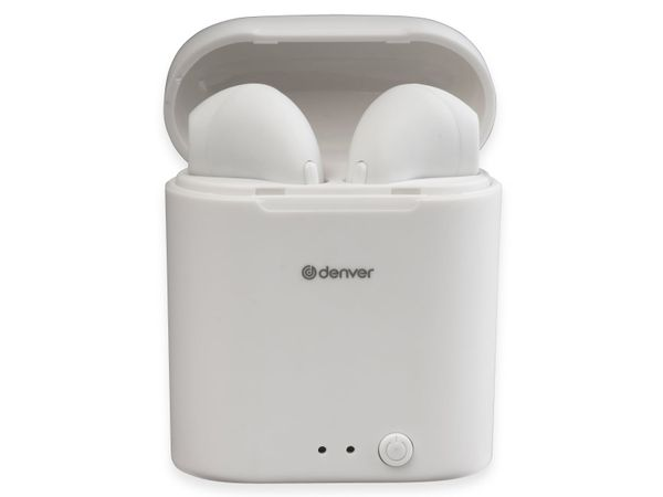 In-Ear Ohrhörer DENVER TWE-46, weiß - Produktbild 5