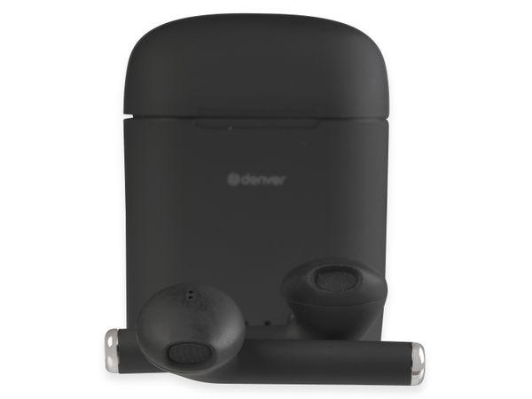 In-Ear Ohrhörer DENVER TWE-46, schwarz
