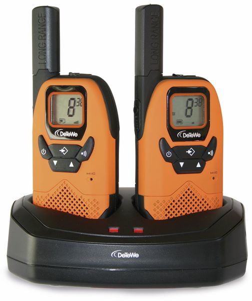 PMR-Funkgeräte-Set DETEWE Outdoor 8000 Duo Case - Produktbild 1