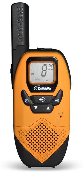 PMR-Funkgeräte-Set DETEWE Outdoor 8000 Duo Case - Produktbild 2
