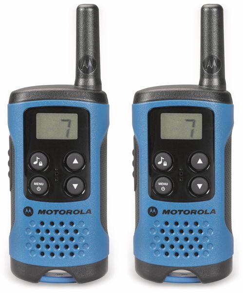 PMR-Funkgeräte-Set MOTOROLA TLKR T41, blau