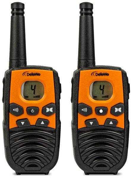 PMR-Funkgeräte-Set DeTeWe Outdoor 4000