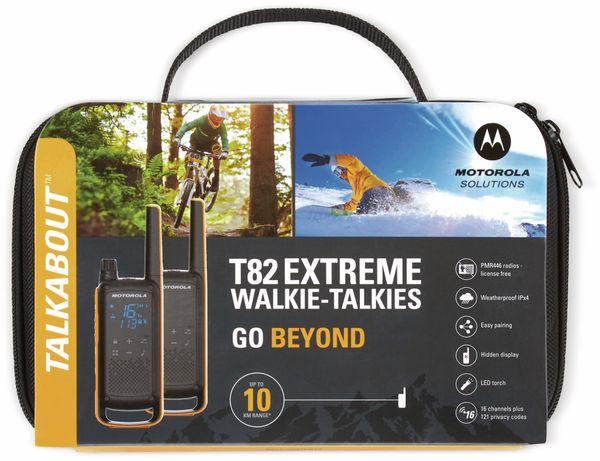 PMR-Funkgeräteset MOTOROLA Talkabout T82 Extreme, 2 Stück - Produktbild 5