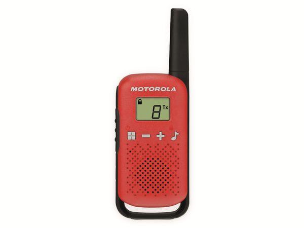 PMR-Funkgeräte-Set MOTOROLA Talkabout T42, rot - Produktbild 2