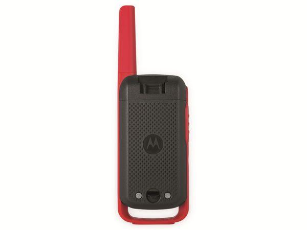 PMR-Funkgeräte-Set MOTOROLA Talkabout T62, schwarz/rot - Produktbild 4