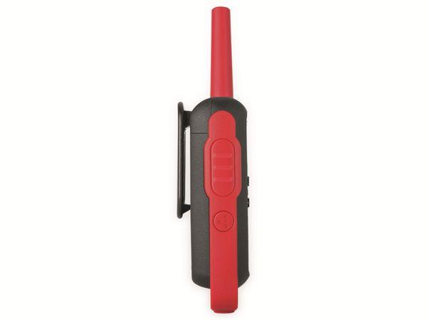 PMR-Funkgeräte-Set MOTOROLA Talkabout T62, schwarz/rot - Produktbild 6