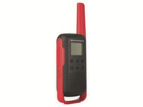 PMR-Funkgeräte-Set MOTOROLA Talkabout T62, schwarz/rot - Produktbild 7