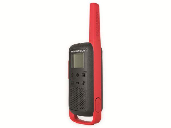 PMR-Funkgeräte-Set MOTOROLA Talkabout T62, schwarz/rot - Produktbild 8