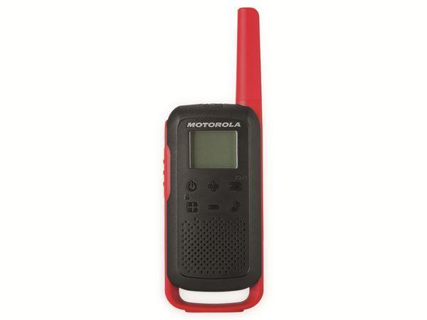 PMR-Funkgeräte-Set MOTOROLA Talkabout T62, schwarz/rot - Produktbild 9