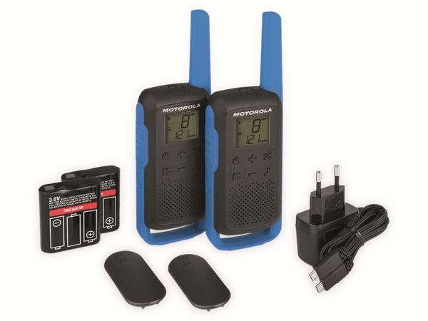 PMR-Funkgeräte-Set MOTOROLA Talkabout T62, schwarz/blau