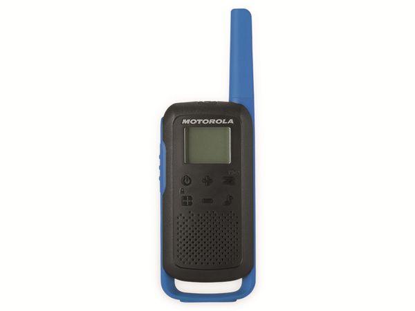 PMR-Funkgeräte-Set MOTOROLA Talkabout T62, schwarz/blau - Produktbild 5