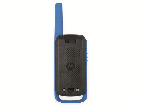 PMR-Funkgeräte-Set MOTOROLA Talkabout T62, schwarz/blau - Produktbild 6