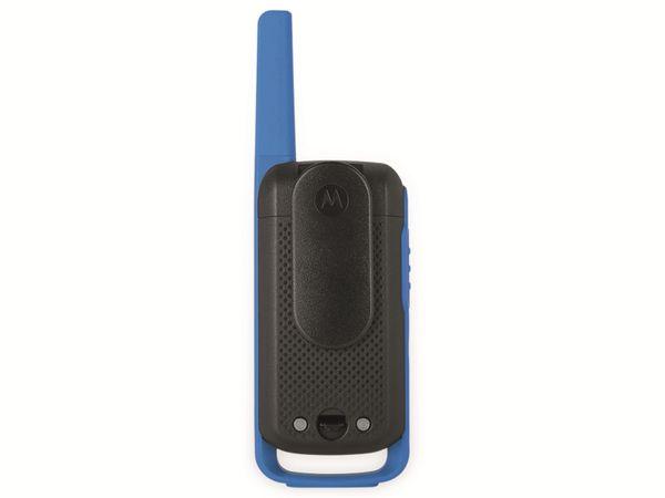 PMR-Funkgeräte-Set MOTOROLA Talkabout T62, schwarz/blau - Produktbild 7
