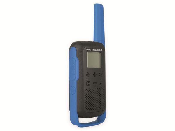 PMR-Funkgeräte-Set MOTOROLA Talkabout T62, schwarz/blau - Produktbild 8