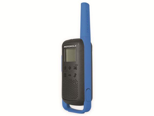 PMR-Funkgeräte-Set MOTOROLA Talkabout T62, schwarz/blau - Produktbild 9