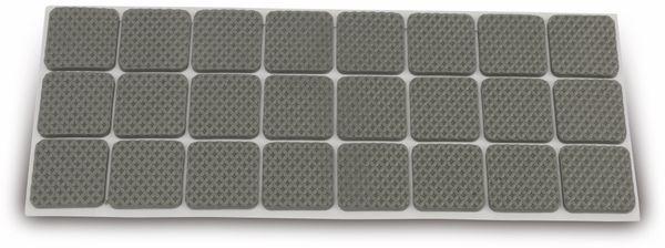 Möbelgleiter EUROTOOLS 343-NBFR, EVA, 28x28 mm, 24 Stück - Produktbild 1
