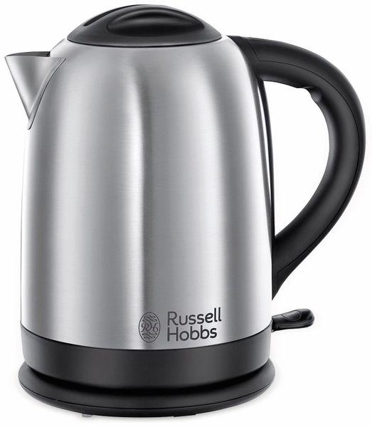 Russell Hobbs Wasserkocher Oxford, 2400 W, 1,7 L, Edelstahl - Produktbild 1