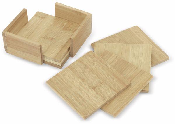 Untersetzer-Set, Bambus, 7-teilig - Produktbild 1
