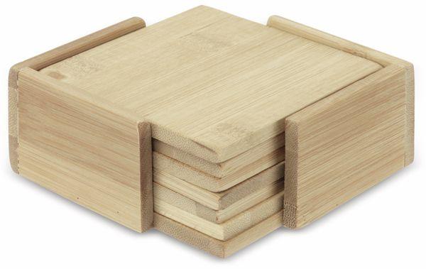Untersetzer-Set, Bambus, 7-teilig - Produktbild 2