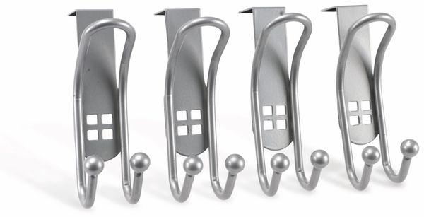 Türhaken-Set, 4 Stück - Produktbild 1