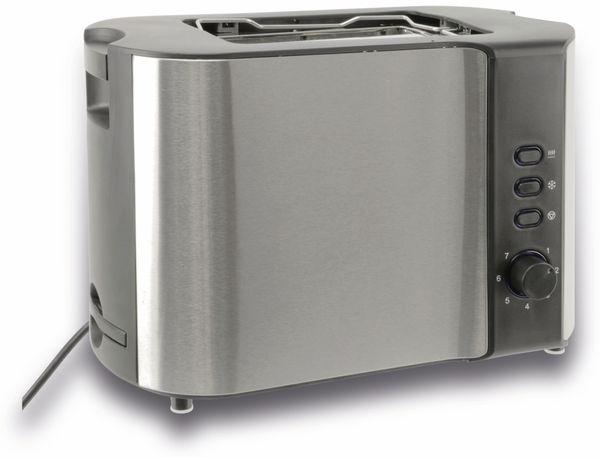 Doppelschlitz, Toaster, GT-Tds-eds, Edelstahl, 1000 W - Produktbild 1