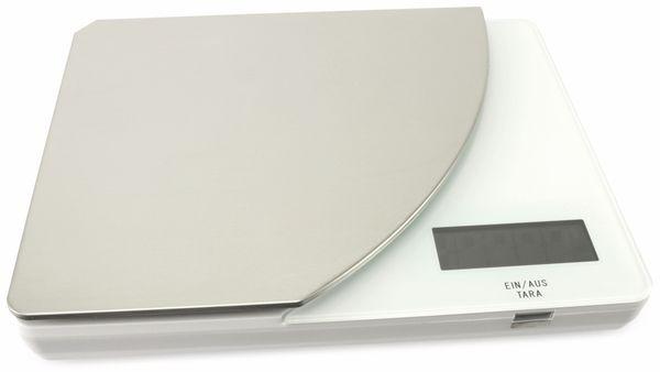 Digitale Küchenwaage, TR-KST-04w weiß
