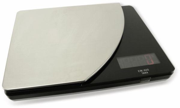 Digitale Küchenwaage, TR-KST-04s schwarz - Produktbild 1