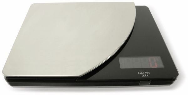 Digitale Küchenwaage, TR-KST-04s schwarz - Produktbild 2