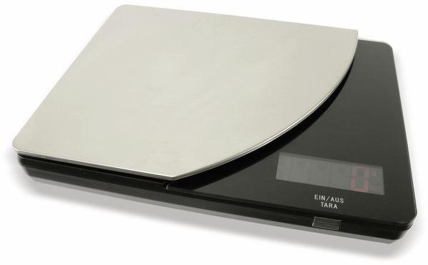 Digitale Küchenwaage, TR-KST-04s schwarz - Produktbild 3