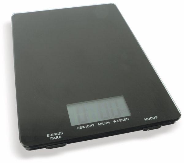 Digitale Küchenwaage, TR-KSg-02 schwarz