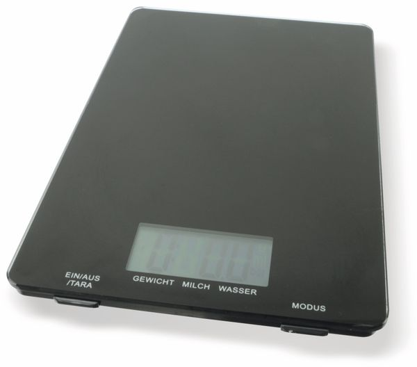 Digitale Küchenwaage, TR-KSg-02 schwarz - Produktbild 2