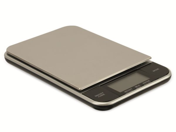 Digitale Küchenwaage, TR-KSt-02, Edelstahl - Produktbild 1