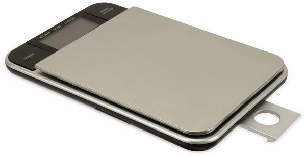 Digitale Küchenwaage, TR-KSt-02, Edelstahl, B-Ware - Produktbild 3