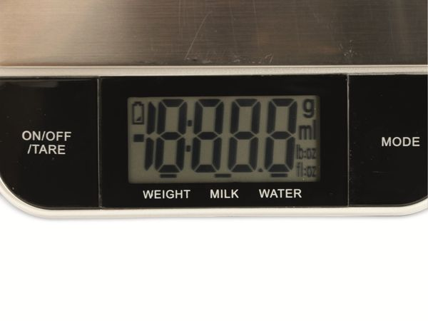 Digitale Küchenwaage, TR-KSt-02, Edelstahl - Produktbild 4