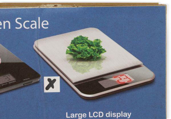 Digitale Küchenwaage, TR-KSt-02, Edelstahl, B-Ware - Produktbild 6