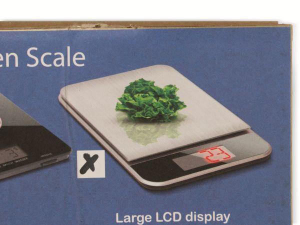 Digitale Küchenwaage, TR-KSt-02, Edelstahl - Produktbild 6
