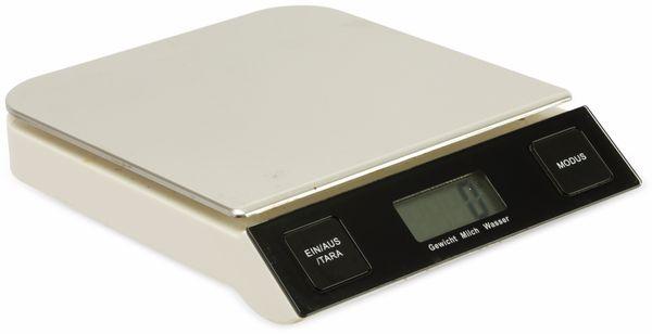 Digitale Küchenwaage, TR-KSt-01, Edelstahl - Produktbild 1