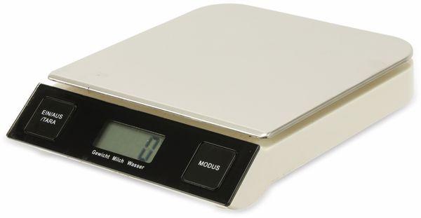 Digitale Küchenwaage, TR-KSt-01, Edelstahl - Produktbild 2