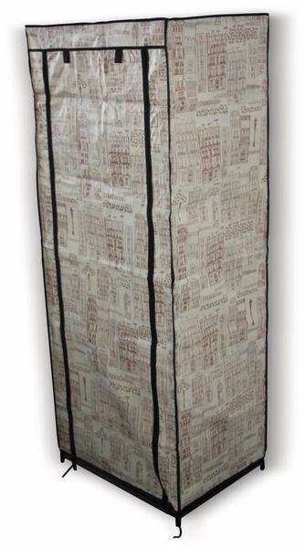 """Textil-Garderobenschrank """"Solitaire"""" 39519 S, 153x60x46 cm - Produktbild 1"""