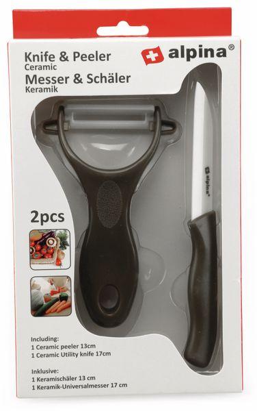 Keramik-Messer & Schäler ALPINA, Keramik - Produktbild 2