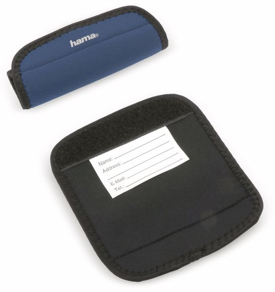 Gepäck-Griffschoner HAMA 105369, dunkelblau, 2 Stück - Produktbild 1