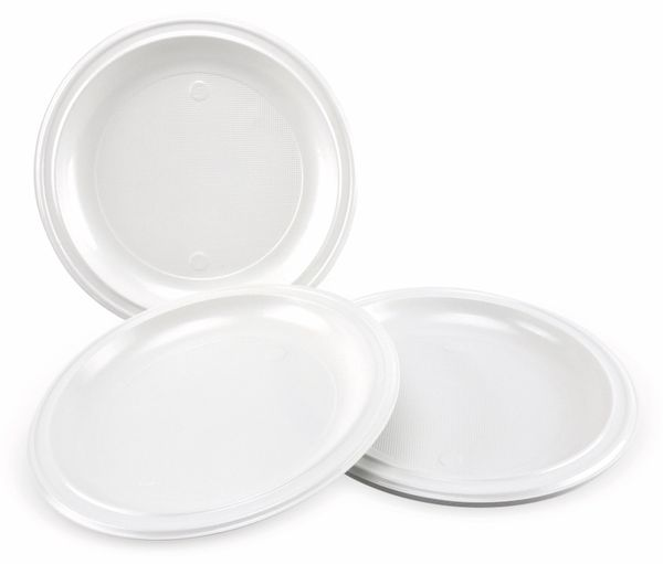 Einweg-Teller, Ø 22 cm, 12 Stück - Produktbild 2